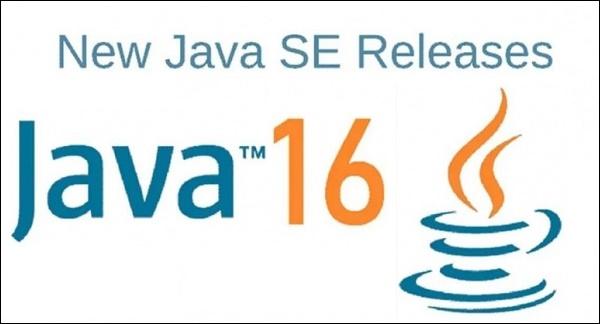 Картинка версия Java 16
