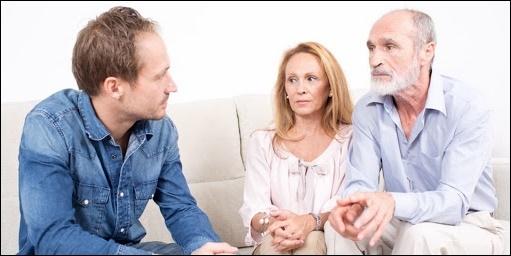 Разговор с семьёй