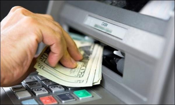 Фото деньги из банкомата