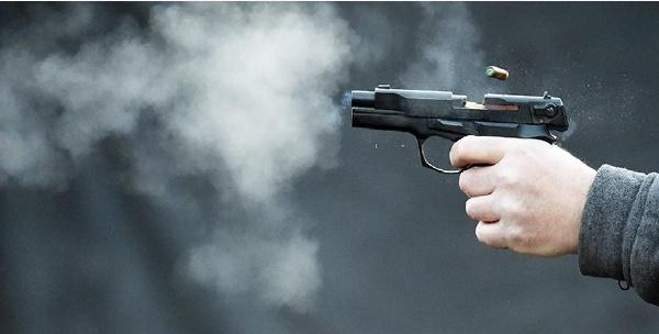 Картинка выстрелы из пистолета