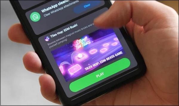 Реклама на телефоне POCO