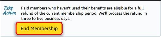 "Кнопка ""End Membership"""