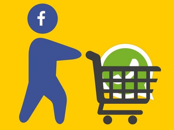 Рисунок Фейсбук купил Ватсап