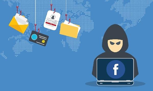 Картинка взлом данных Фейсбук