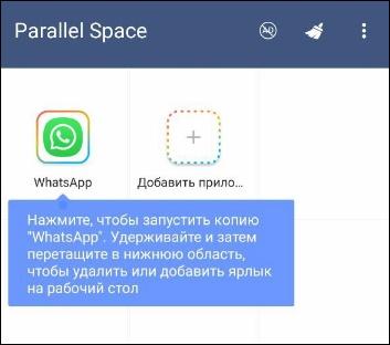 Икона Parallel Space
