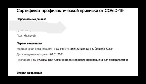 Цифровой сертификат