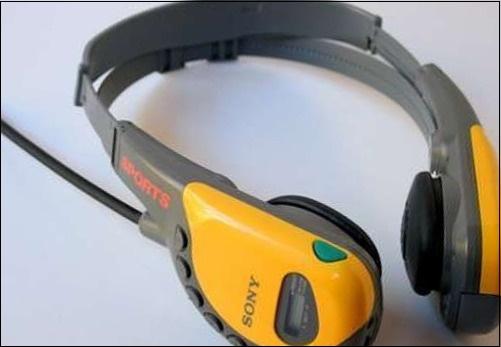 Наушники Sony Walkman