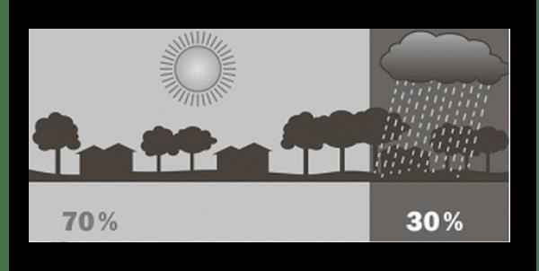 Проценты дождя