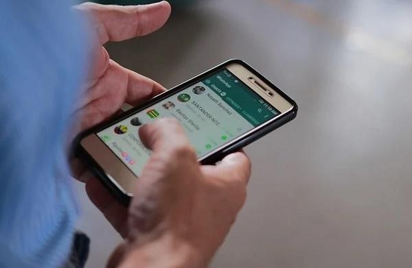 Приложение на телефоне Whatsapp
