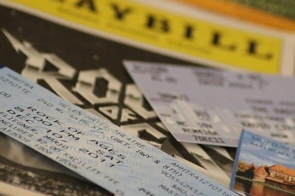 Картинка билеты