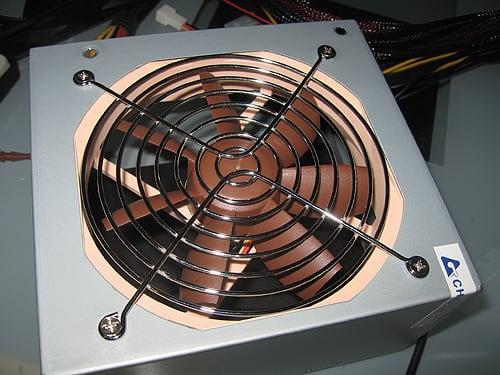 система охлаждения БП