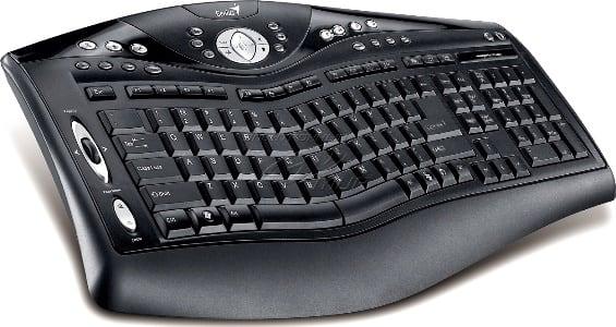 клавиатура с дополнительными клавишами