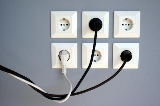 отсутствие электропитания