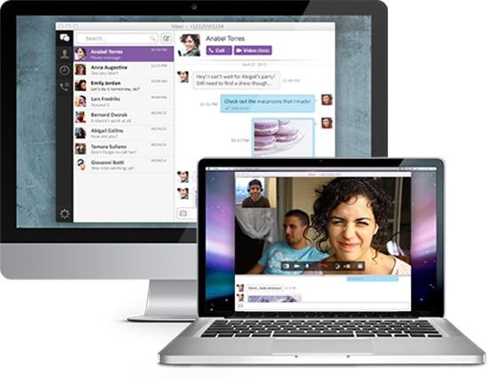 установленный Viber на Mac