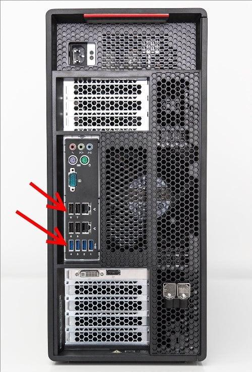 задние usb порты системного блока