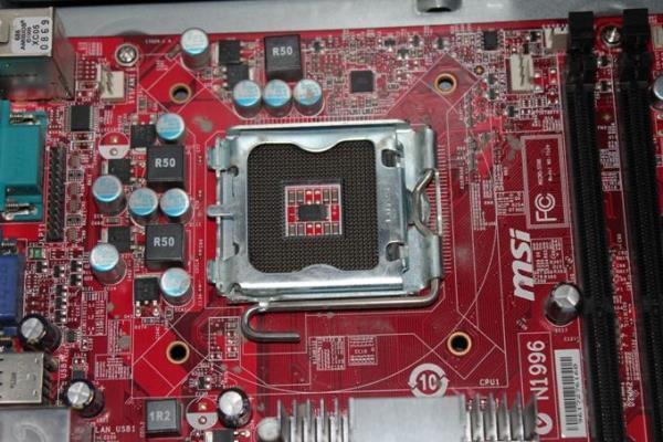 слот для процессора в материнской плате