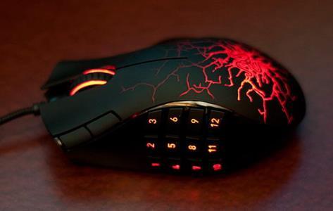игровая мышь с большим количеством кнопок