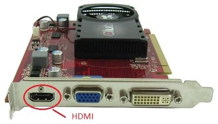 hdmi вход в видеокарте