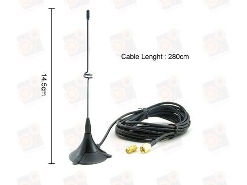 Усиливающая антенна для Wi-Fi сигнала