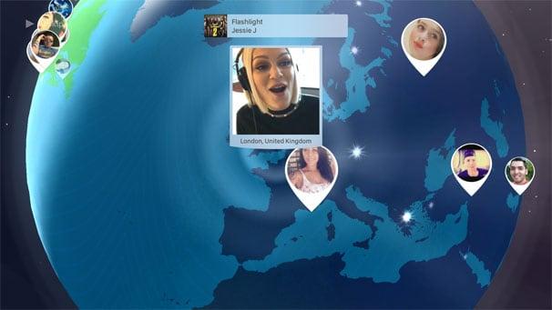 Скриншот приложения караоке