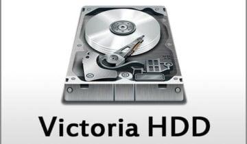 Инструкция по использованию Victoria HDD
