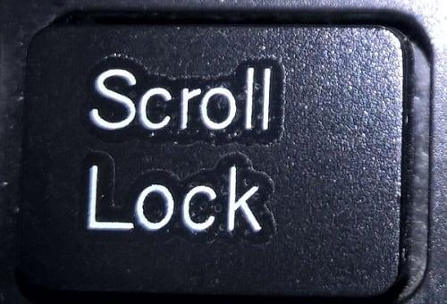 Scroll Lock что это такое на клавиатуре
