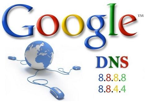 Используем DNS от Google