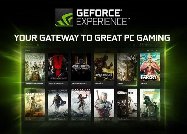 NVIDIA GeForce Experience - ваши ворота в мир игр
