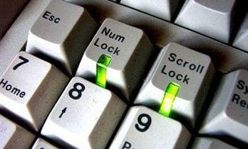 Клавиша Нум Лок