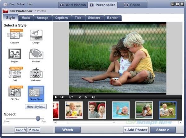 Конвертер Photoshow