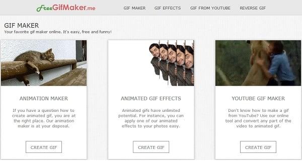 Скриншот сервиса GifMaker