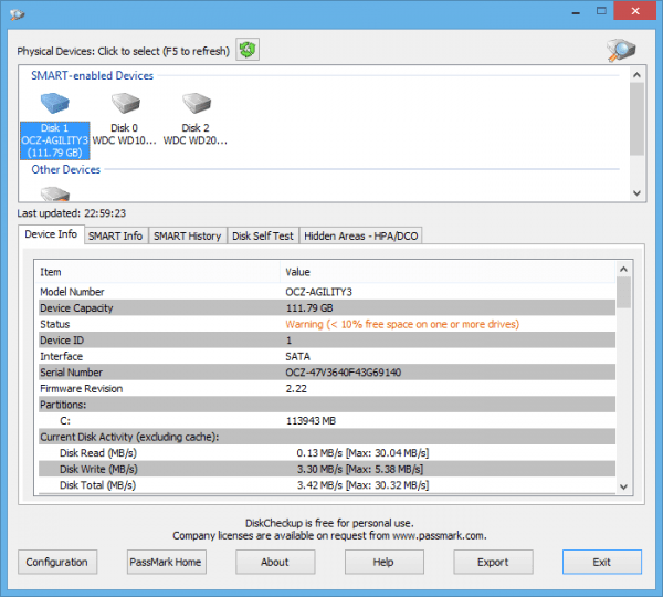 Диагностируем состояние SSD