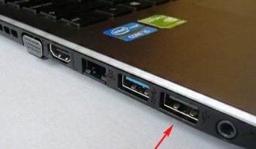 Исправляем проблему с USB порами на ноутбуке
