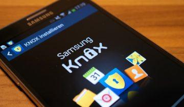 KNOX Samsung что это такое