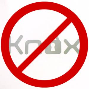 Удаляем KNOX