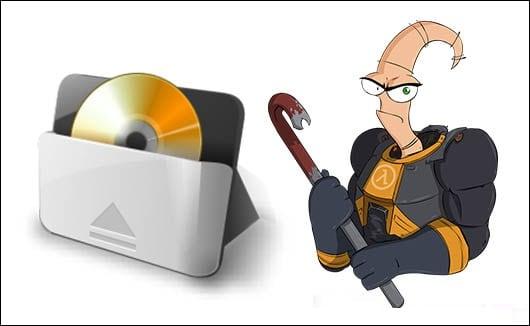 В некоторых случаях открытие дисковода может стать существенно проблемой
