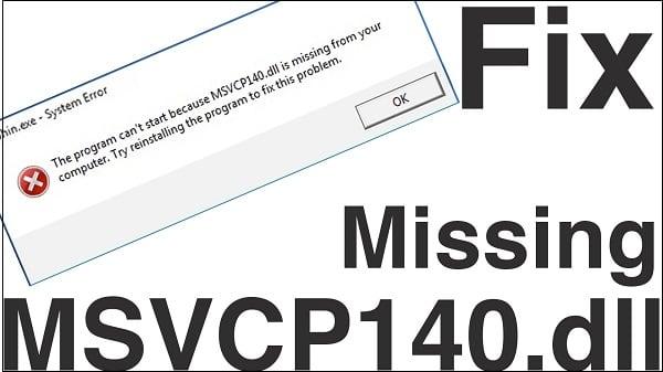 Исправляем ошибку msvcp140.dll на наших ПК