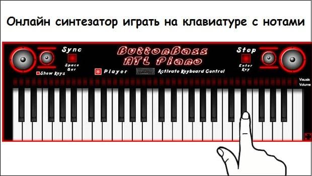 Используем синтезатор онлайн для проигрывания музыки