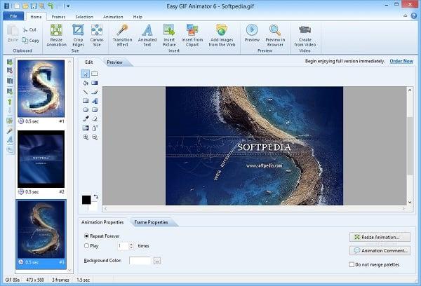 """Программа """"Easy GIF Animator"""" позволит создать вам гифку из имеющихся у вас фото"""
