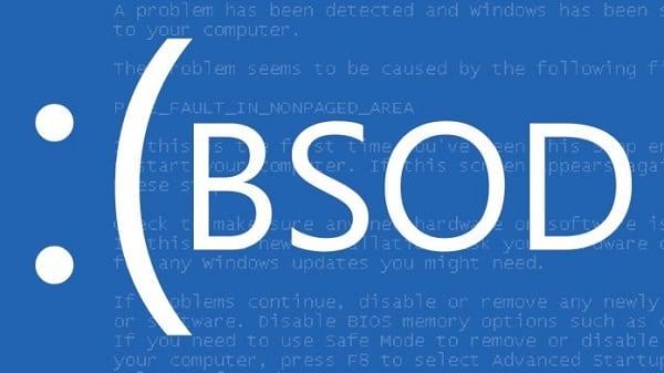 Определяем суть возникшего BSoD