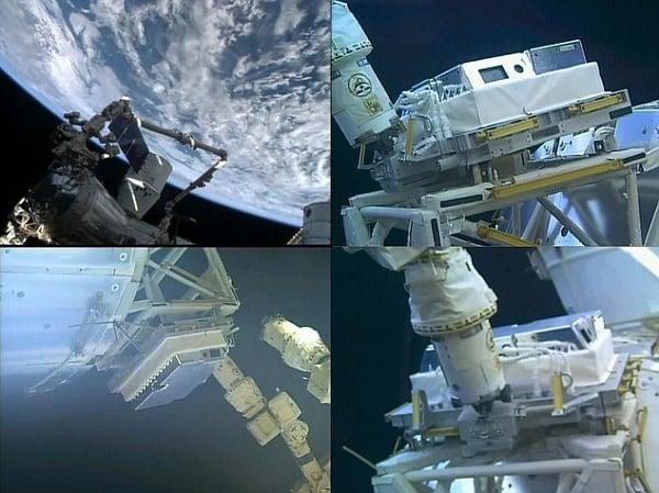 Вид камер с космоса