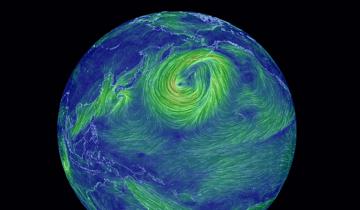 Карта ветров онлайн в реальном времени