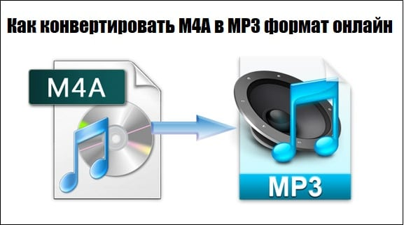 Переводим файл M4A в MP3