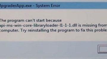 "Устраняем ошибку ""Api-ms-win-core-libraryloader-l1-1-1.dll отсутствует"""
