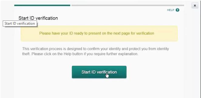 Start ID Verification