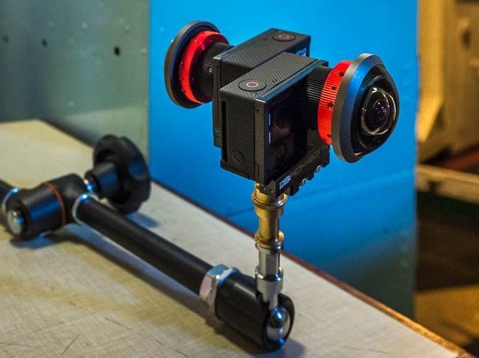 Камеры для снятия видео 360 градусов