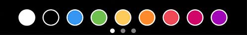 Выберите один из предложенных цветов
