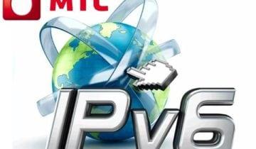 "Логотип услуги ""Доступ к IPv6"" МТС"