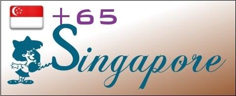 Код 65 принадлежит государству Сингапур